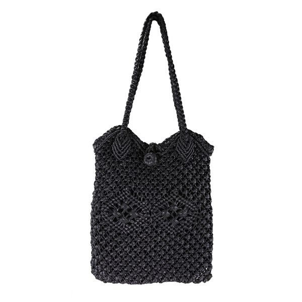 Handmade cotton crochet bag