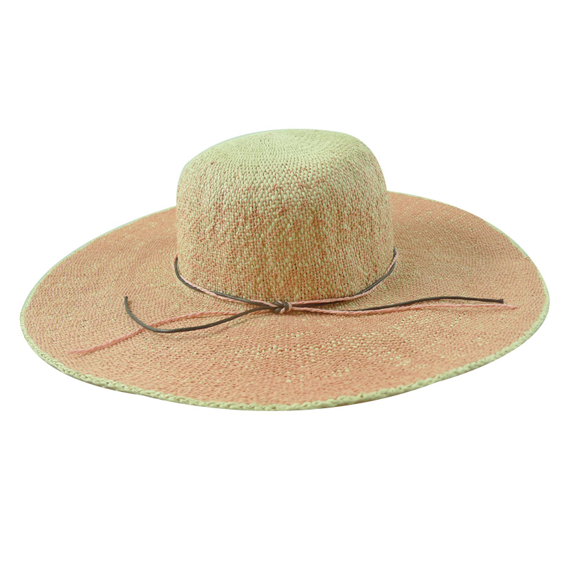 Wide brim straw hats for women beach hats