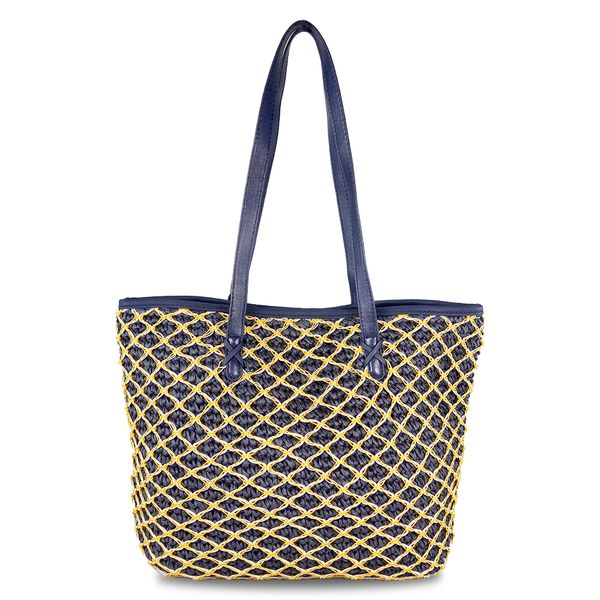 Crochet Hand Woven Natural Straw Bags