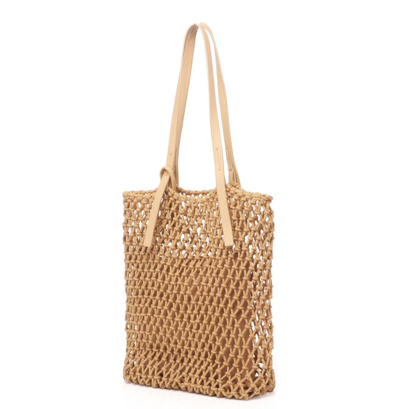 Fabric Knotted Shopper Bag