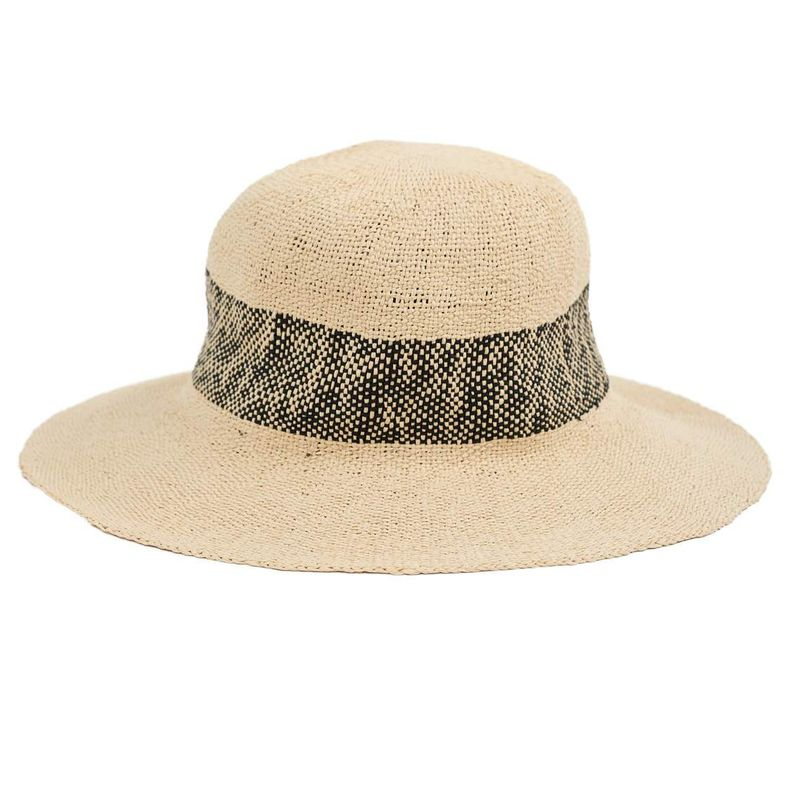 woven straw sun hat for women