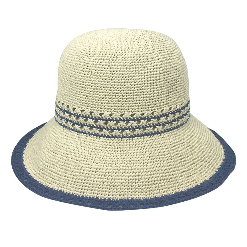 straw bucket hat for summer