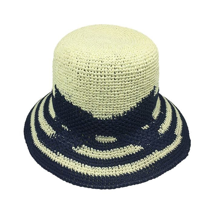 Floppy paper straw hat for women