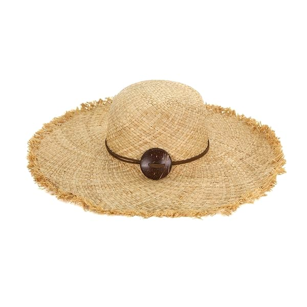 Women summer beach sun hat wide brim floppy straw cap