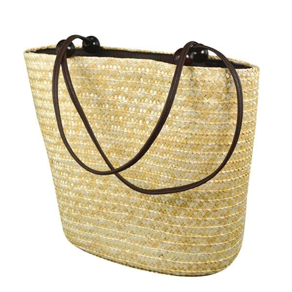 trendy straw beach bags
