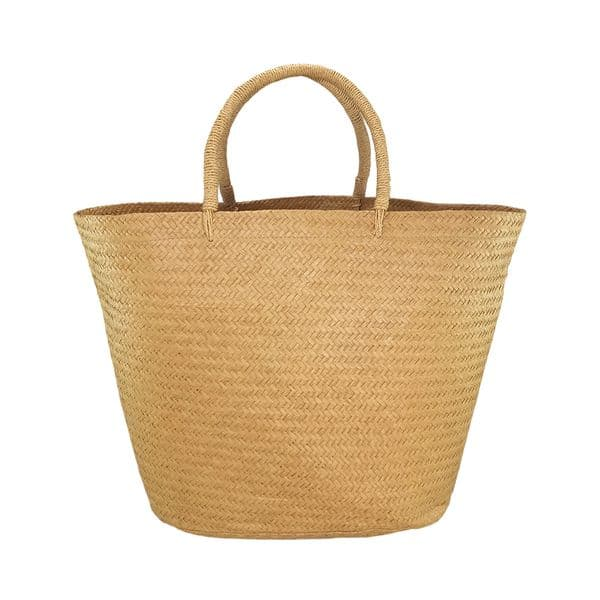 Extra large straw beach bag