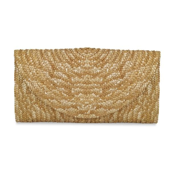 wholesale newest design straw clutch bag