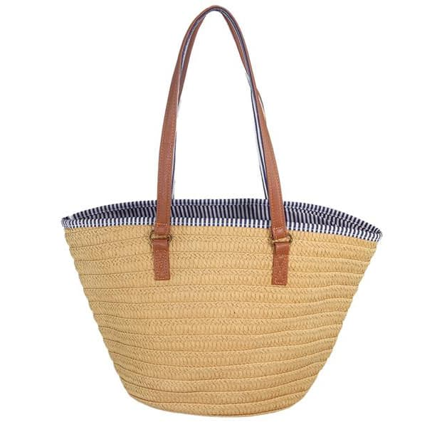 Straw Beach Bag Handbags Shoulder Tote Bag