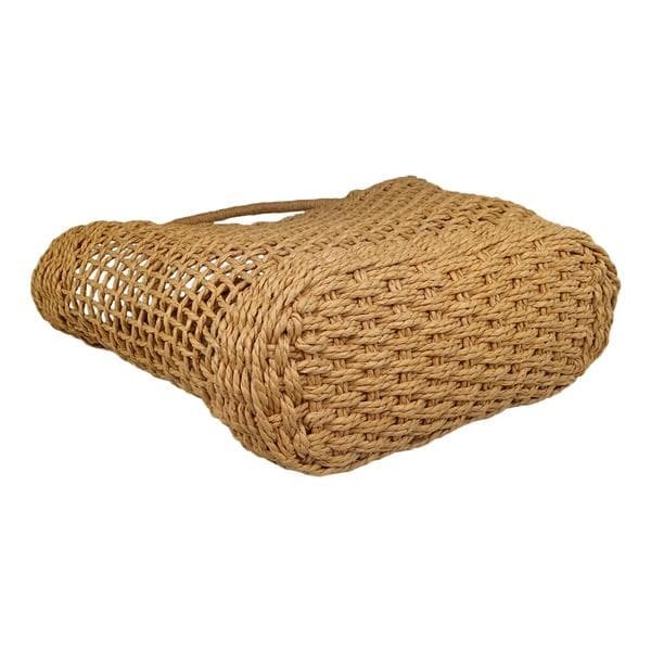 Hollow carved design straw bag