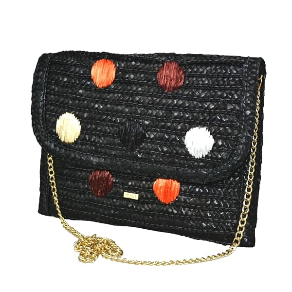 straw crossbody with embroidery
