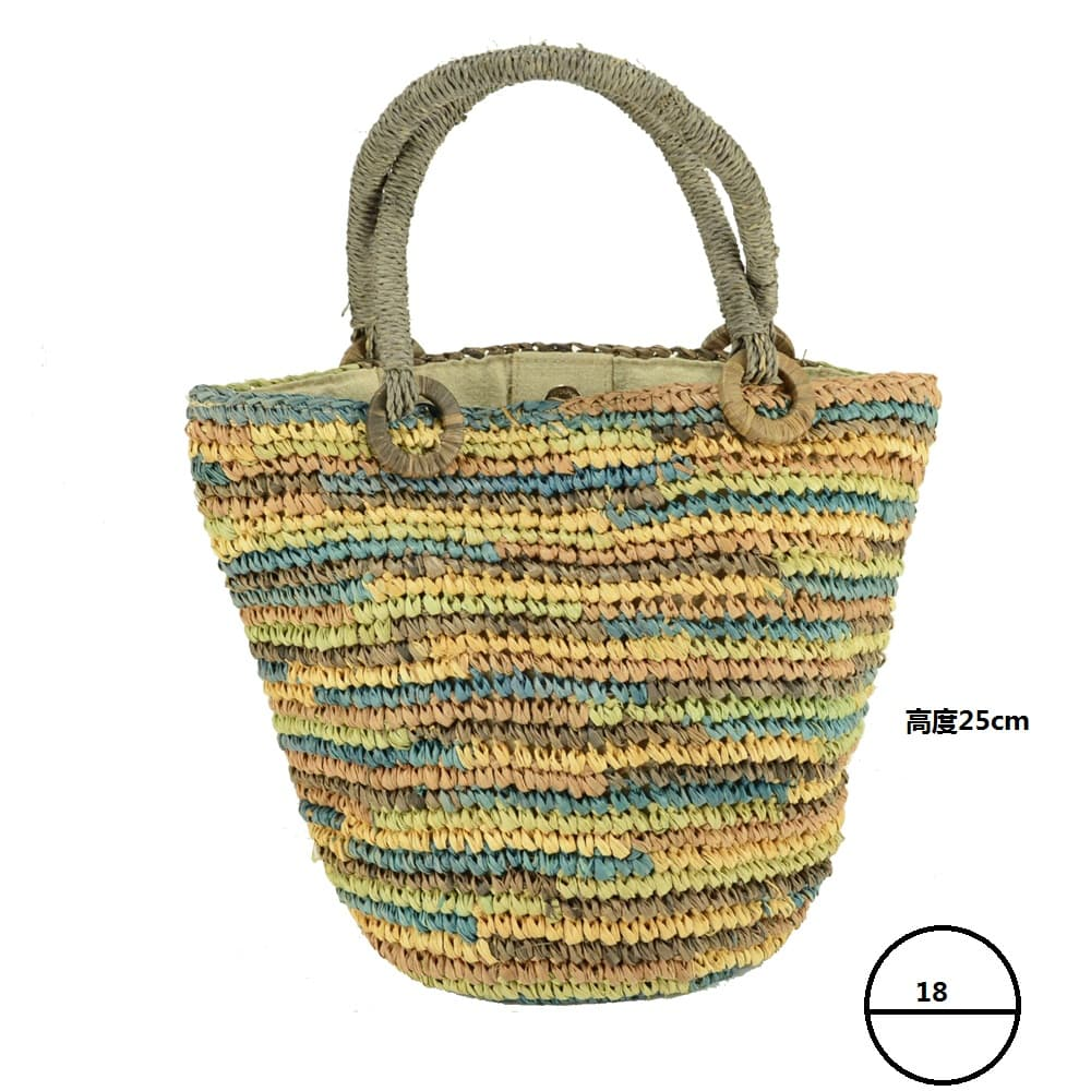 cute raffia tote bag for women