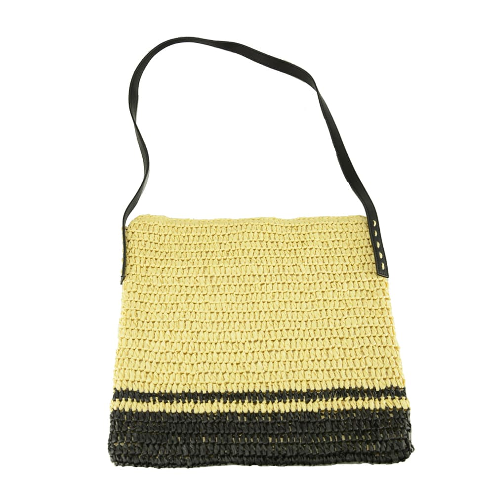 China raffia straw crossbody bag