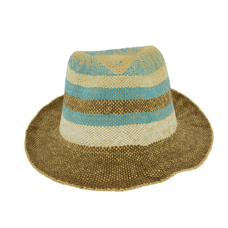 fashion fedora paper straw hat for the summer