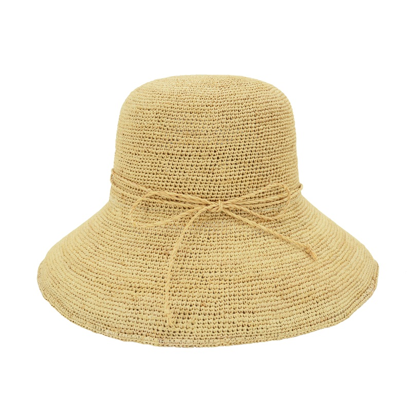 wholesale summer beach raffia straw hat from Qingdao