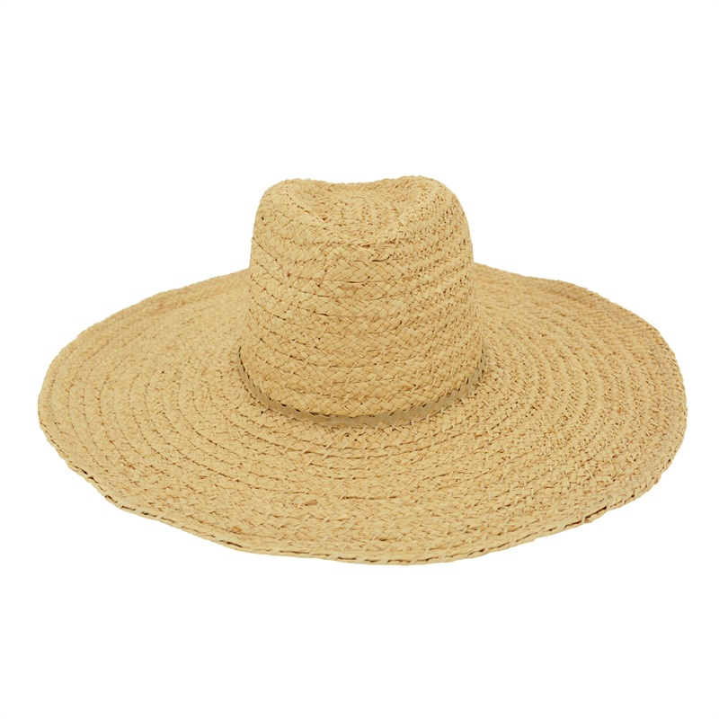 Handmade Florida straw hat farmer beach