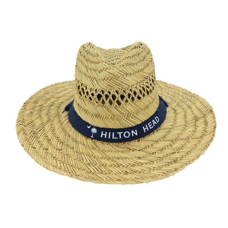 Hollow Straw Hat Wide Brim Beach Hat Sun Hat